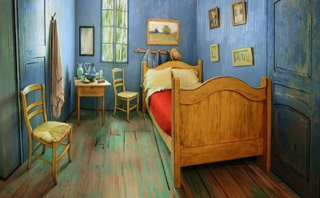 画像: ゴッホの寝室を完全再現!一泊1100円の奇跡の部屋が話題に