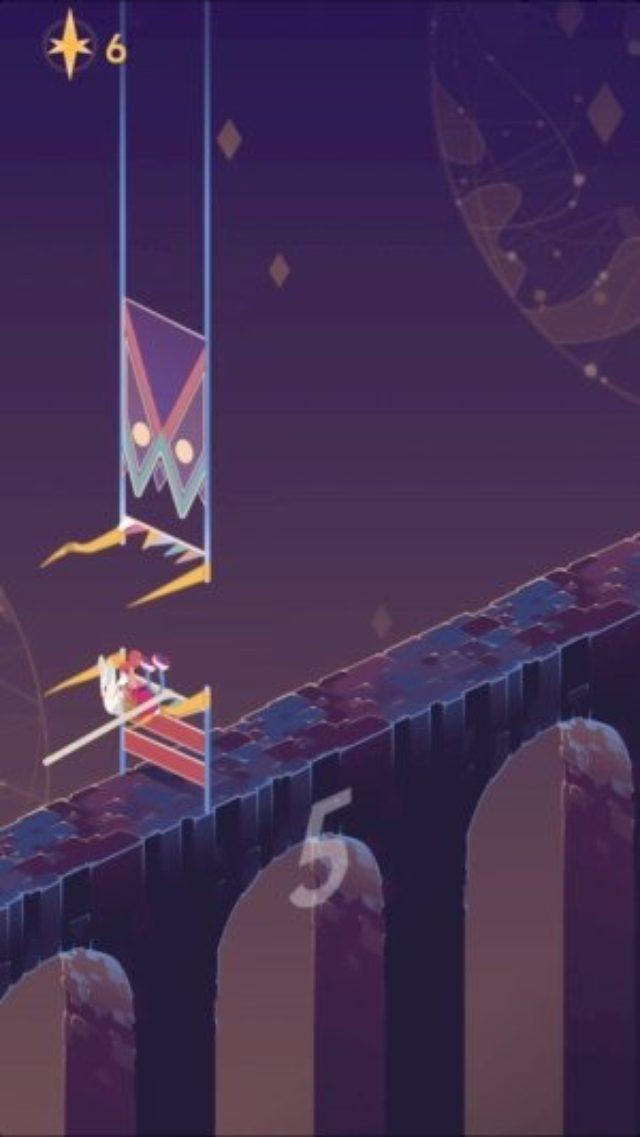 画像: これはハマる!棒高跳びで避けまくるアクションゲーム『リッジランナー』