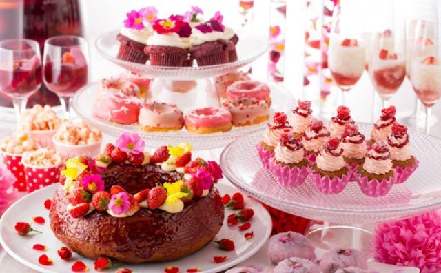 画像: 春を先取り♡桜&桃のデザートブッフェがヒルトンで開催
