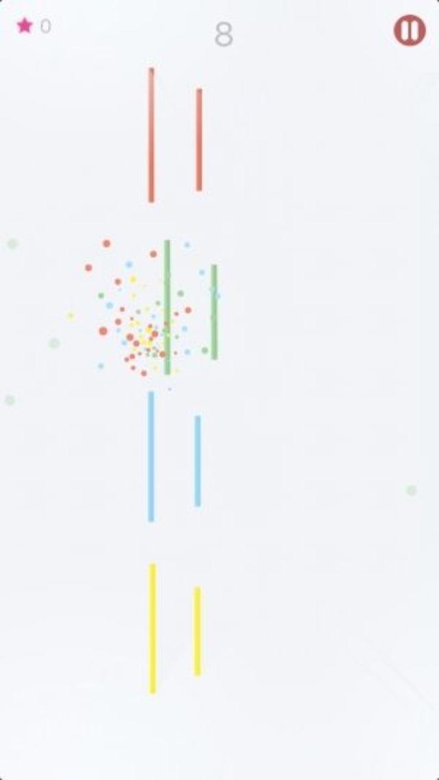 画像: イライラするのにクセになる!Flappy Bird系の色合わせアクション『Color Boom!』
