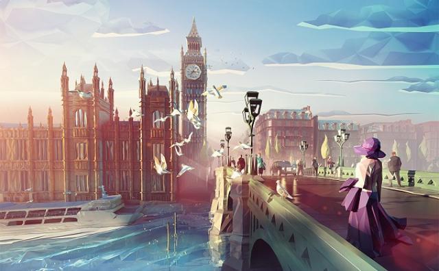 画像: ファンシーな色彩に引き込まれちゃう☆世界の名所を描いたCGイラストがすごい