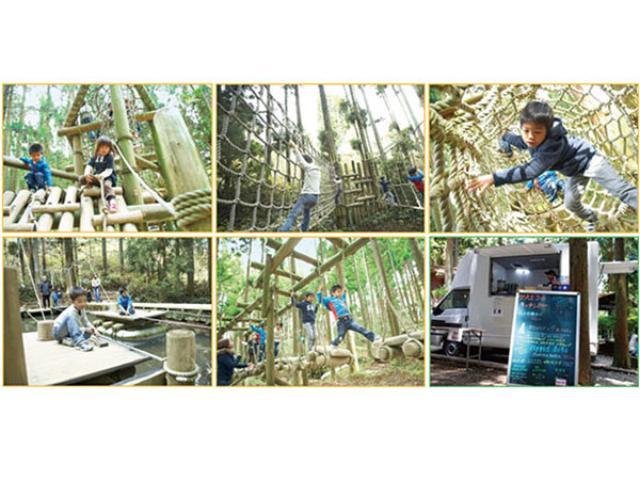 画像: 国立公園・六甲山の本格アスレチック「六甲山フィールド・アスレチック」、例年より1週間早くシーズンオープン!