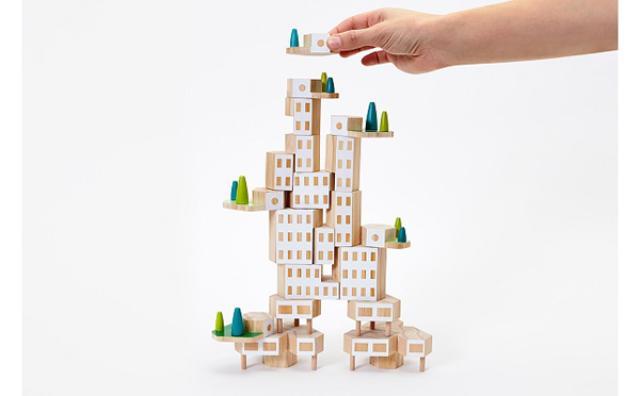 画像: 気分は建築家☆自分だけの街を創れるバランスゲームが楽しい