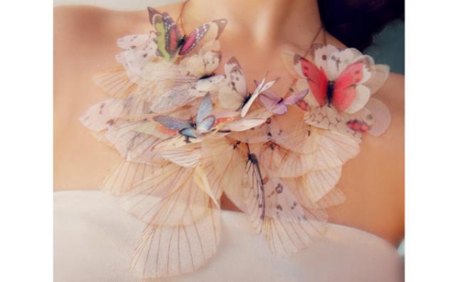 画像: 蝶がひらひらと舞い降りたみたい♡ロマンチックなアクセサリー