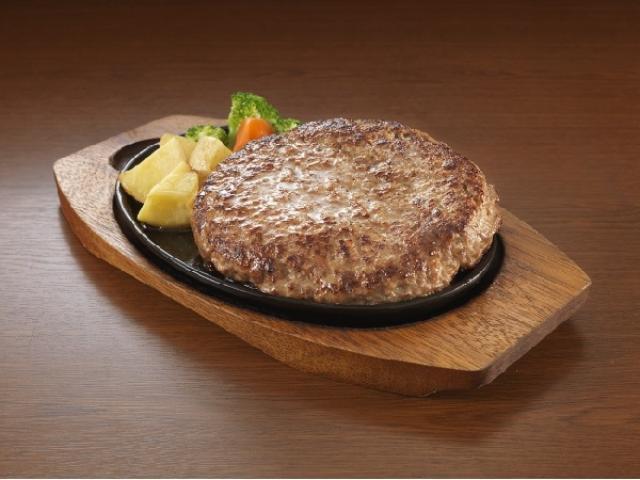 画像: ステーキのどん史上最大600gの「三代目横綱ハンバーグ」が鉄板にどーん!衝撃のボリュームに挑戦しよう!