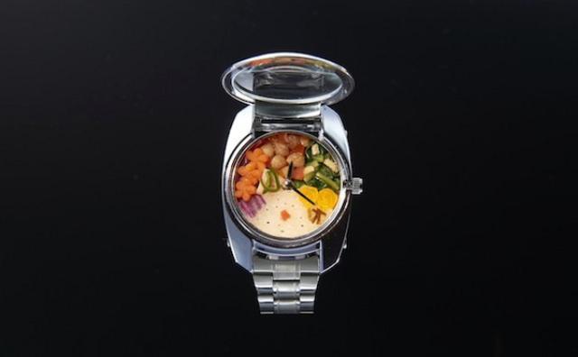 画像: 直径わずか3cm!世界最小の弁当箱「BENTO WATCH」が芸術的