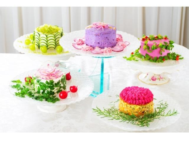 画像: 見て食べてたのしい♪美しすぎるケーキのようなサラダのカフェが名古屋栄にオープン