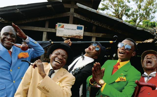 画像: 世界一おしゃれ!?コンゴのファッショニスタ「サプール」の写真展がスタート