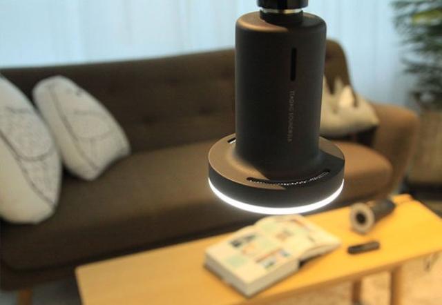 画像: スマホとリモコンで簡単操作☆スピーカーにもなる電球型LEDライト