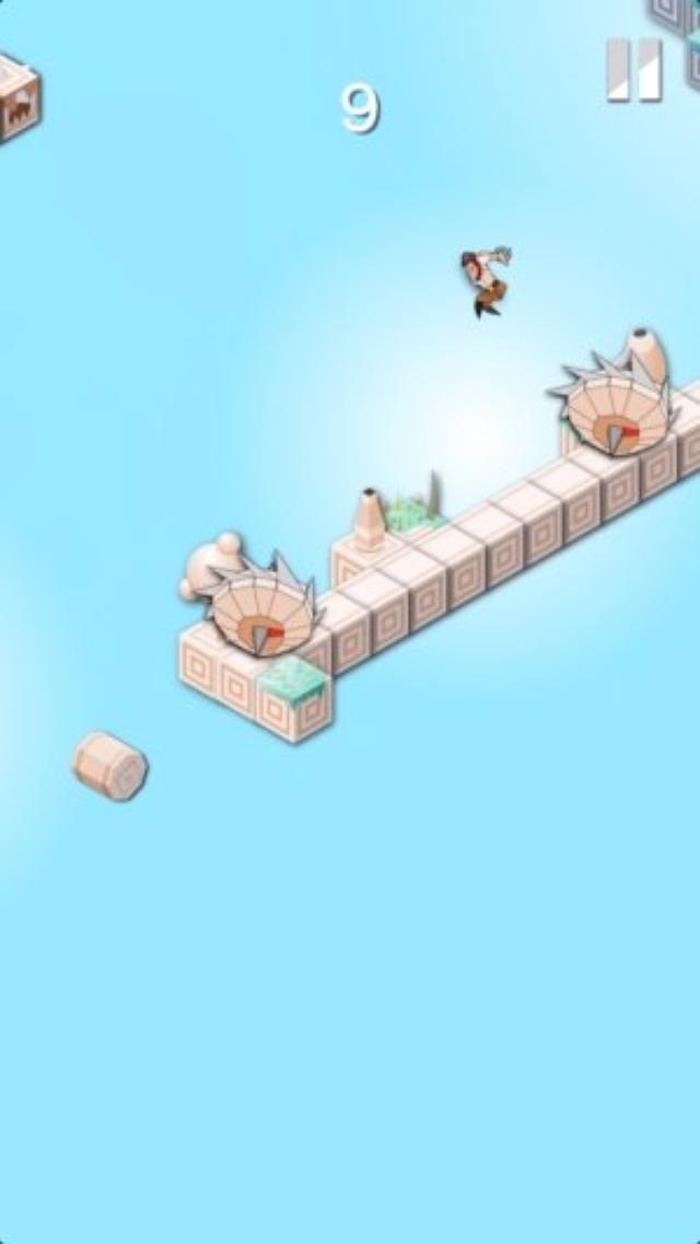 画像: 罠だらけの空中遺跡を踏破せよ!難易度高めのランアクション『Jump Legends』