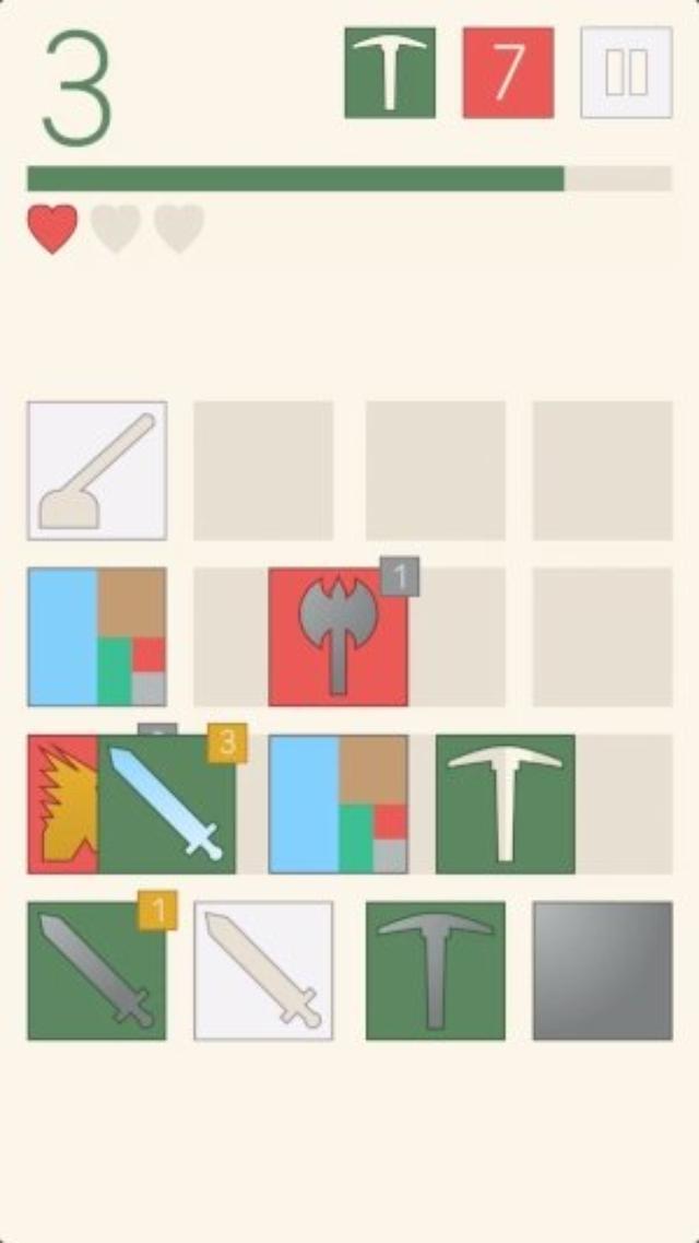 画像: RPG風要素を採り入れたパズル&ストラテジー『Stencilsmith』が意外とハマる!