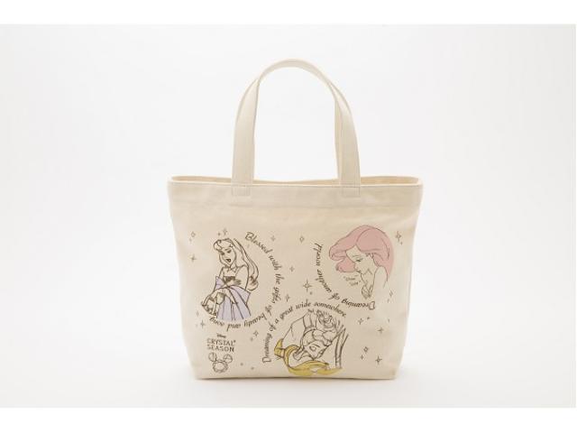 画像: ジュエルナローズが6周年記念の数量限定ディズニープリンセストートバッグを発売!