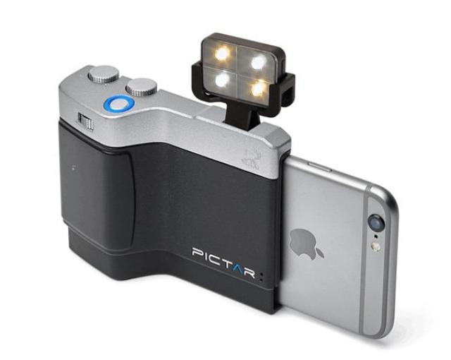 画像: ほぼデジカメ!片手でラクラク撮影できる高機能iPhoneグリップ