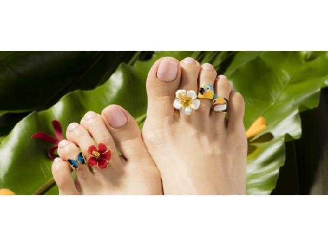 画像: 日本唯一「足の指輪」専門ブランドが素足をおしゃれに彩る新作発表