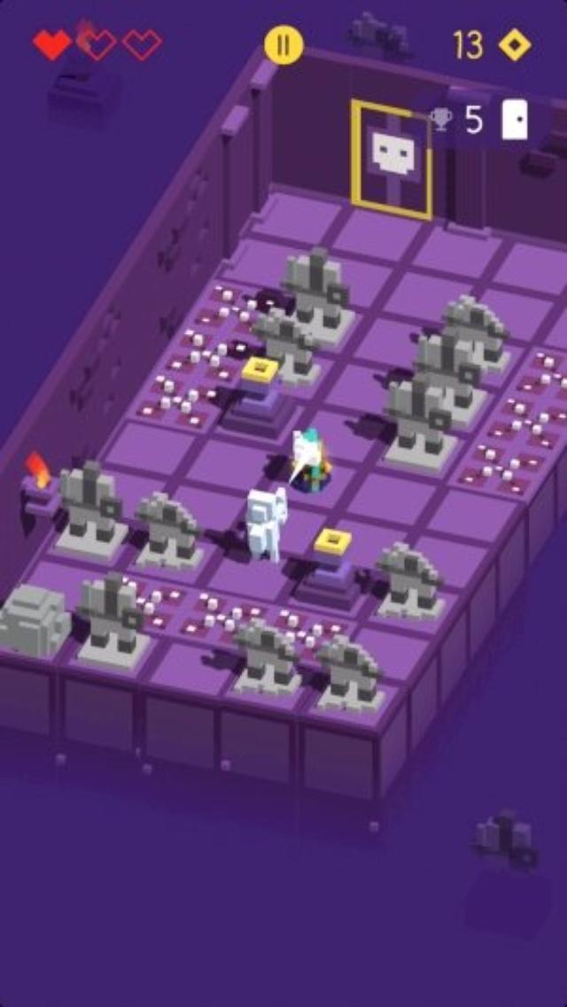 画像: キャラごとに異なる攻略法を探せ!レトロな本格アクション『Looty Dungeon』