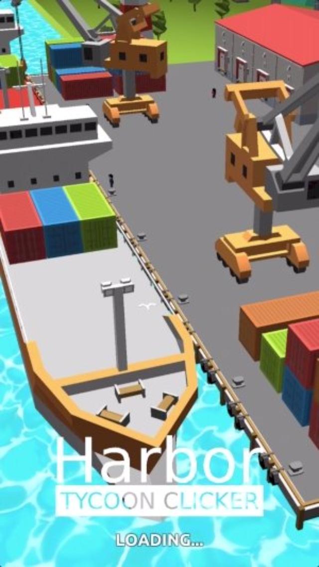 画像: どんどん成長する港にワクワク♪シンプルな王道クリッカー『Harbor Tycoon Clicker』
