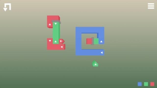 画像: カラフルでオシャレな折りたたみパズル『Fold+』が時間泥棒なおもしろさ♪