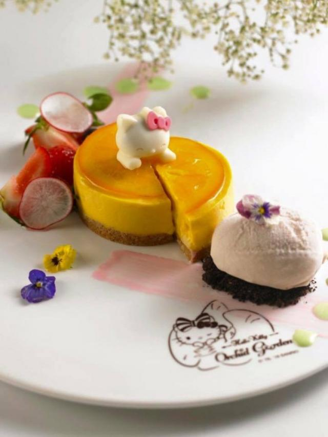 画像: 2個付けリボンがかわいい!シンガポールで開店したハローキティカフェが大人気!