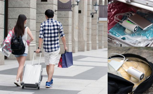 画像: 旅行の必需品!?荷物を圧縮してくれる小型バキュームが便利♪