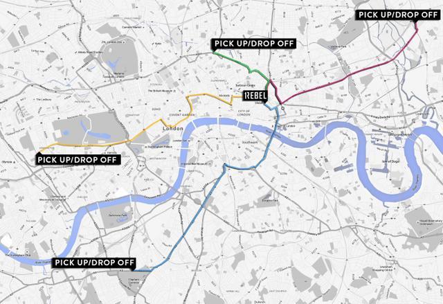 画像: 通勤時間にトレーニング!ロンドンで「スポーツジム付きバス」が計画