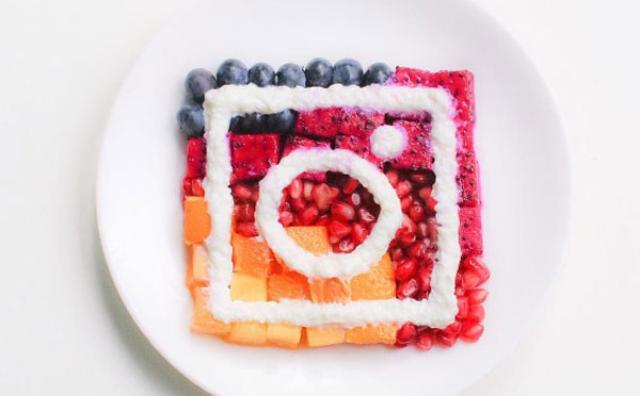 画像: 花や果物を華麗にアレンジ♡インスタグラムの新アイコンがアート作品に