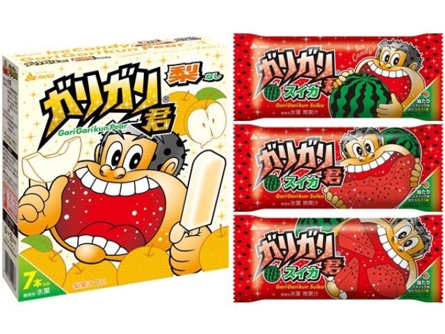 画像: 夏の旬フルーツを先取り!果実食感を楽しむ「ガリガリ君梨」「ガリガリ君スイカ」が新発売