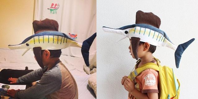 画像1: 「バショウカジキ」をモチーフにして作られた帽子がステキすぎると、Twitterで話題になっています。 さかなクンも絶賛しそうな帽子 この帽子を制作したのは、佐藤蕗(@fuki_fuki)さん。 こんど、さかなクンさんの講演会に行くので、息子が好きなバショウカジキの帽子をつくりました。相当気に入っているようでずっと被っています。こんなに気に入ってもらえたのは久しぶり。 https://t.co/Vw0SW33JzQ pic.twitter.com/AtqUo377vk — 佐藤蕗 (@fuki_fuki) 2016年5月23日 これは、佐藤さんが息子さんに向けて作った「バショウカジキ」の帽子です。 息子さんは海洋生物などが大好きで、尊敬 [...] irorio.jp