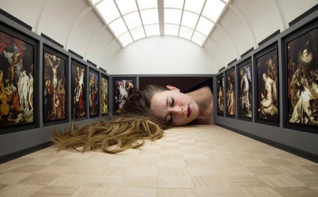 画像: 自分が美術館の作品に!?アーティストのインスタレーションがユニーク♪
