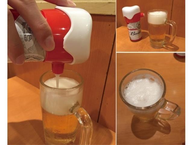 画像: 家飲みビールを瞬時に格上げ!缶につけるだけで極うま泡が楽しめる、コロンと可愛いスグレモノ♪