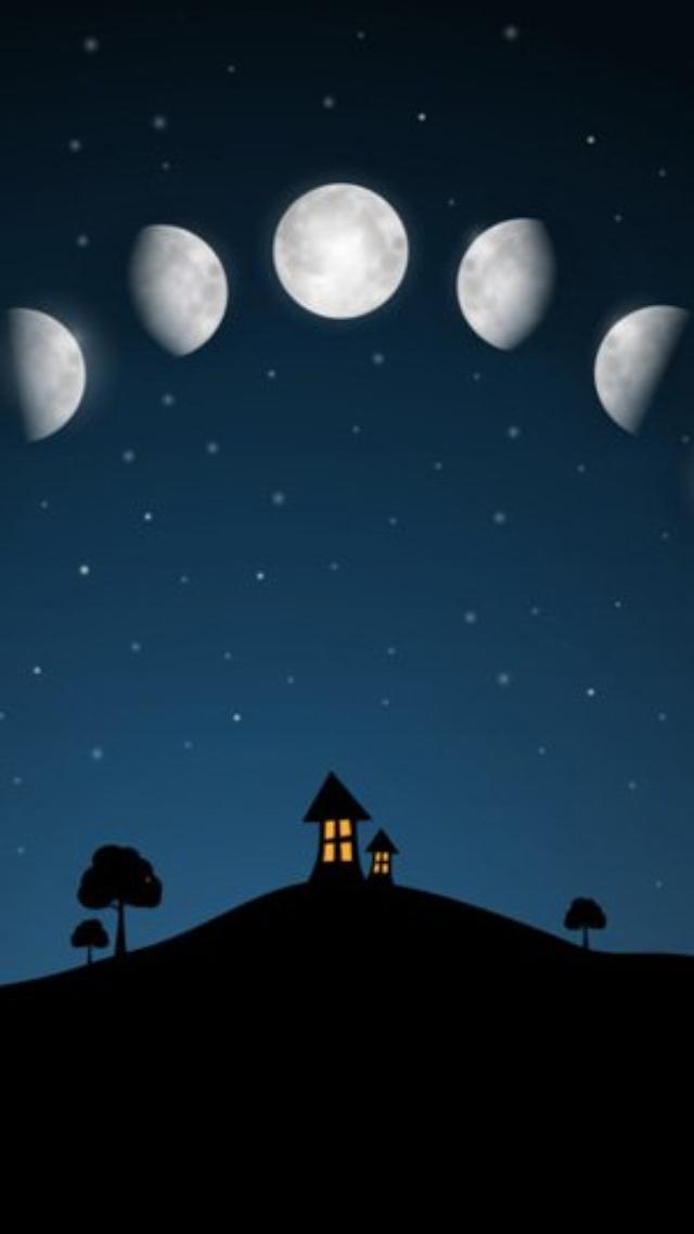 画像: 梅雨でもお月見ができる美しいカレンダーアプリ『夜空ライブムーンフェイズ』