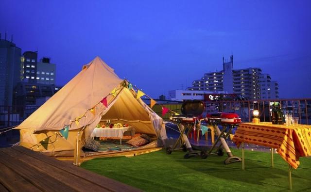 画像: 都会の真ん中でキャンプ&BBQ?下北沢にアウトドア体験できるスペースが誕生