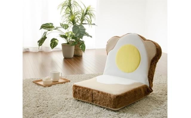 画像: ふわふわ食パンの座椅子?パン好き必見のユニークな家具が登場☆