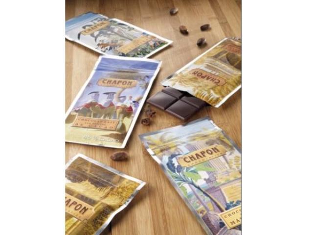 画像: パリで人気のチョコレートの「Bean to Bar」ブランド『CHAPON』のタブレットが東京・西武池袋店に初登場!
