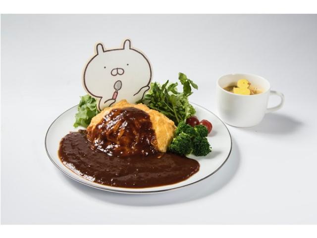 画像: LINEスタンプのかわいい人気キャラ「うさまる」モチーフのカフェが4都市にてオープン!