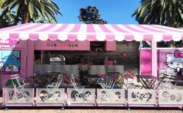 画像: カリフォルニアにオープンした「ハローキティー・カフェ」が大人気!ポップなスイーツがかわいい♡
