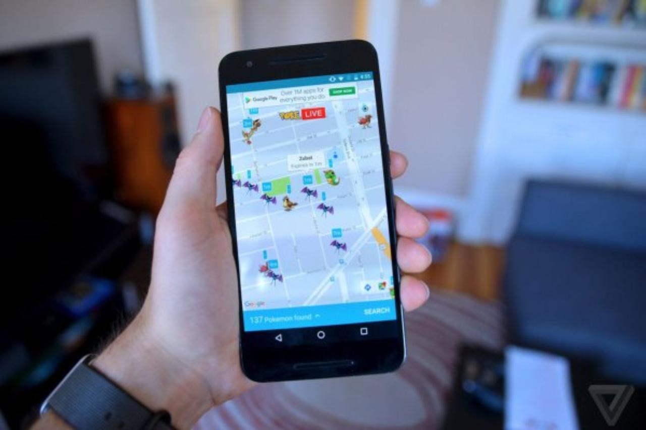 ポケモンの居場所マップはこのアプリで決まり!androidユーザーが羨ましい