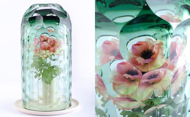 画像: まるで万華鏡のよう...!一輪の花が一瞬でブーケに変身するフラワーベース
