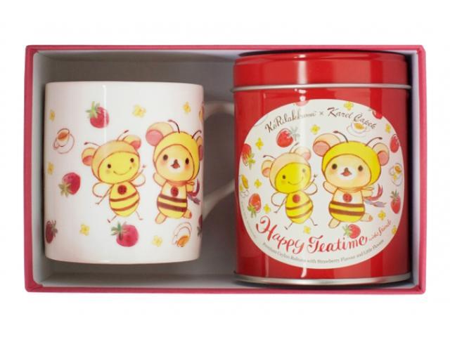 画像: コリラックマ&バジーちゃんと楽しいティータイム♪コリラックマ×カレルチャペック紅茶店のコラボ紅茶が新発売!