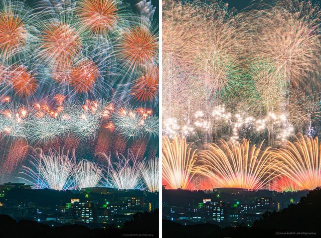 """画像1: 日本の夏の風物詩""""花火""""を撮影した色鮮やかな写真の美しさに、思わず幸せな気持ちにさせられると話題を呼んでいる。 花火の音まで聞こえてくる この臨場感溢れる花火写真を撮影したのはwasabiさん(@wasabitool)。 ツイートには「凄い迫力!凄い瞬間!!豪華な花火だ〜」、「花火の音が聞こえてくるような写真!」、「綺麗すぎてヤバイ」、「とにかく素晴らしいの一言」といったコメントが寄せられている。 「The King of fireworks」 子供の頃から見ていたPL花火 合成無しの一発撮りで仕留めてやりました^ ^#photography#PL花火芸術#ファインダー越しの私の世界 pic.twitter.com/Eln6CVFe [...] irorio.jp"""