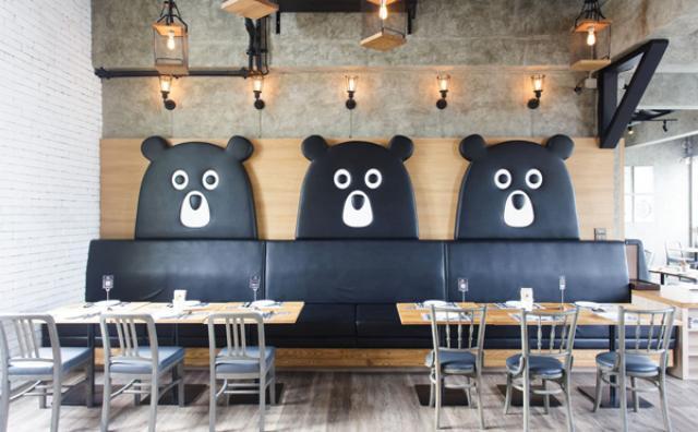 画像: テーマはテディベア工場♡クマさんがいっぱいのタイのレストランに行ってみたい!
