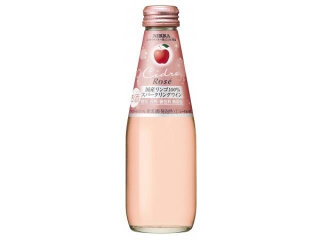 画像: 国産リンゴ100%、鮮やかなピンク色が美しい「ニッカシードル・ロゼ」誕生♡