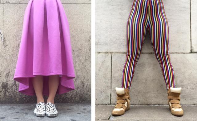 画像: オシャレは足元から...?ニューヨーカーの下半身のみを集めたファッションスナップがおもしろい