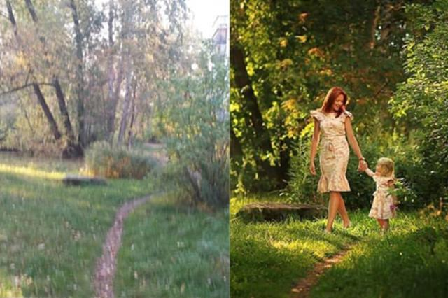 画像1: 誰もが「やっぱりプロは違う!」と感服するに違ない、巧みな技をご覧いただきたい。 ここで問われるのは写真を撮る技である。 まず、素人が撮った写真からご紹介しよう。 こちらである▼ 団地横にある、どこからどう見てもただの小道。しかもブレブレである。 しかしプロの手にかかるとこんな素敵な場所に変身。 母と娘が散歩を楽しみ、まるで妖精でもいそうなメルヘンチックな雰囲気さえ漂う。 これがプロの技である。 これらの写真はredditに投稿されたもので、「普通の人とカメラマンとの違い」と題され、いくつかの例を示している。 他にもご紹介しよう。 次はこちら▼ どうってことのない風景である。 しかしカメラマンが撮影すると... なんと絵になる切り株であっ [...] irorio.jp