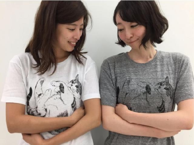 画像: いつでも猫をギュッ!着るだけで猫とスキンシップがとれるフェリシモの「猫抱っこ」Tシャツ♡
