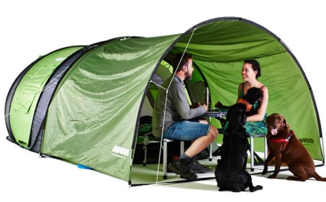 画像: アウトドア初心者でも安心☆ワンタッチで完成&ソーラーパワー付きのテントが秀逸