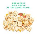 画像: スマホでオリジナルのトーストが手軽に❤メッセージや絵を転写できるトースター『TOASTEROID』