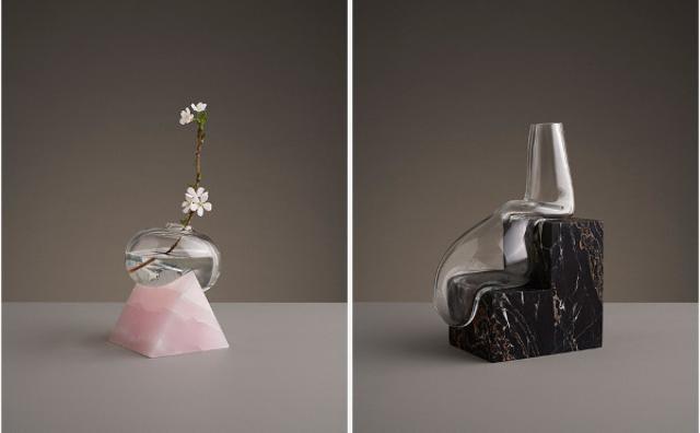 画像: まるで溶けてるみたい...!硬いのか柔らかいのかわからなくなるガラスの花瓶が不思議