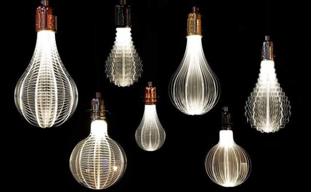 画像: なんて美しいの...!光の糸が織りなすワイヤーランプが幻想的