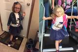 画像1: 親から離れて初めて一人で幼稚園や学校で過ごす...そんなとき、子どもはどんな体験をし、何を考えるのでしょうか。 それを見事に表現した2枚の写真がネットで話題になっています。 4歳の娘のビフォー・アフター Redditユーザーのboobafett13さんが投稿した4歳の娘の写真です。 義務教育前に通うPre-Kという学校に、初めて投稿する彼女。 満面の笑顔で、期待に満ちあふれています。 そしてこちらが帰ってきたときの様子。 髪飾りがとれて、げっそり疲れ切っているようです。 閲覧回数130万超 すべてを物語っているこのビフォー・アフターが注目を集め、1日ほどで閲覧回数は130万以上。 コメントも1,300以上寄せられています。 50歳くらい [...] irorio.jp