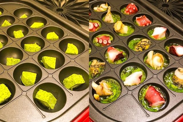 画像1: たこ焼き器と「エスカルゴバター」を使った簡単レシピに注目が集まっています。 「エスカルゴバター」を使った簡単レシピ! ある日、エスカルゴディッシュと、たこやき器の形が似ていると感じたじな(@gohancurryrice)さん。 たこ焼き器に冷凍で売ってるエスカルゴ用バター入れる→ツブ貝とかタコ入れる→おいしい pic.twitter.com/zCpyN7oGAr — じな (@gohancurryrice) 2016年8月27日 たこやき器に、「エスカルゴバター」とタコやつぶ貝を入れて焼いてみたんだとか。 そのときの様子を撮影し、作り方と写真をTwitterに公開しました。 作り方もシンプルで、「エスカルゴバター」をお好みの大きさに [...] irorio.jp
